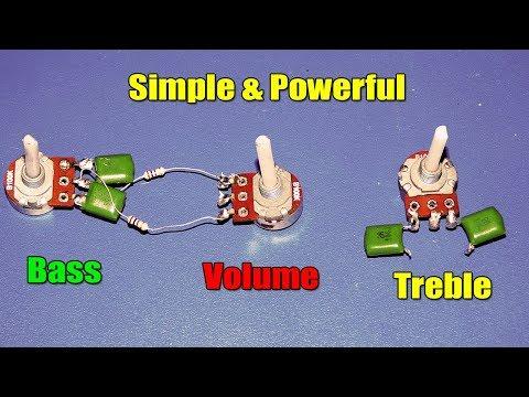 Simple Heavy Bass & Treble Volume Controller