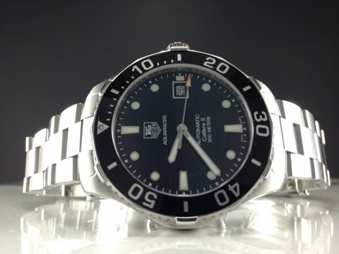 63ddbbc9a68 Tag Watches - 3 Bestselling TAG Heuer Aquaracer Stainless Steel Mens ...