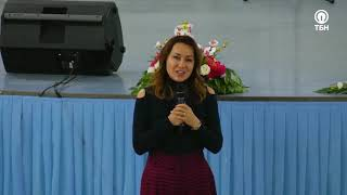 """Проповедь о семье Виктории Никитиной-Шин в церкви """"Вера, действующая любовью"""""""