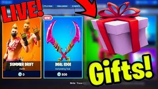 🔴*NEW* FORTNITE ITEM SHOP LIVE! September 13 New Skins - Gifting Skins Live (Fortnite Battle Royale
