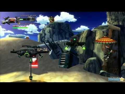 Hard Corps: Uprising - Mission 1 - Desert