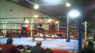Tom's 2nd boxing fight round 1