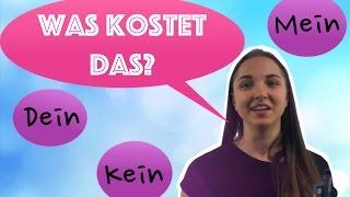 5. Артикли в немецком, покупки, цифры на немецком! Учим немецкий вместе!