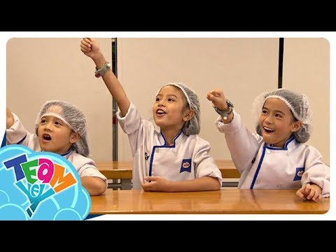 Cooking School in Kidzania Manila | Team Yey Time Out