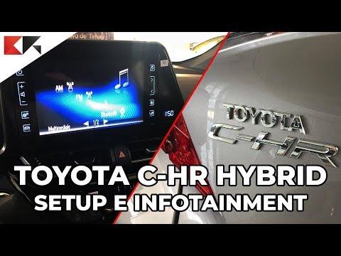 Toyota C-HR Hybrid: setup, tecnologia e infotainment [CR OnBoard]