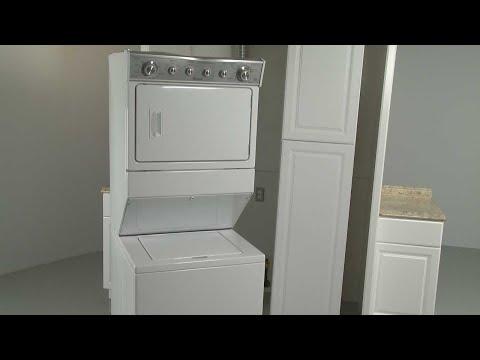 Whirlpool Combination Washer/Dryer Installation (Model #WET4027EW0)