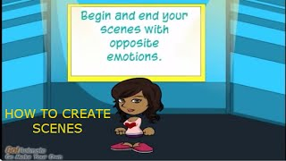 How to Write a Screenplay: Creating Scenes  (starting + and ending -)