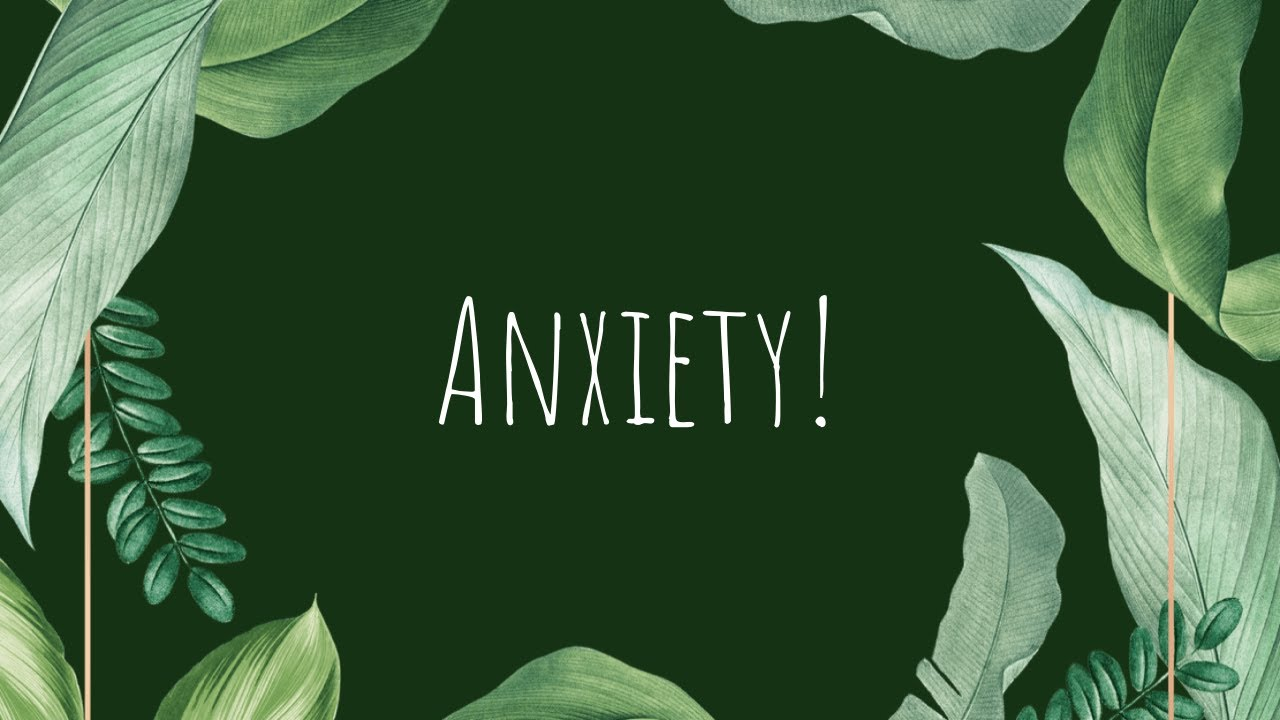 Let's Talk About Anxiety