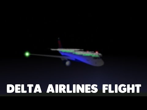 Delta Airlines Flight!   Roblox