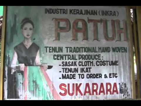 Traditional Hand Weaving   Lombok Island   Map Peta   Indonesia Travel Guide Tourism