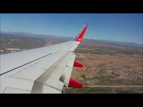 Southwest: 737-700 Landing at KPHX