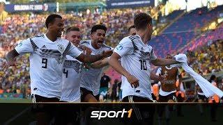 Rumänien - Deutschland 2:4 | UEFA U21 EM 2019 Highlights | SPORT1| SPORT1