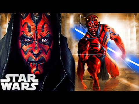 WHAT IF DARTH MAUL WAS A JEDI? - STAR WARS EXPLAINED