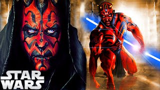 WHAT IF DARTH MAUL WAS A JEDI? - STAR WARS THEORY