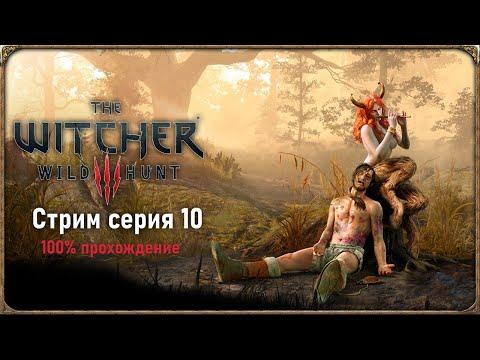 The Witcher 3 100% прохождение | Стрим - серия 10 |