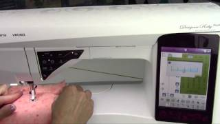 Husqvarna Viking Designer Ruby 55 Free Motion Quilting
