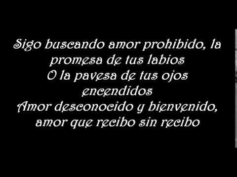 Tr3s Monos Amor Letra