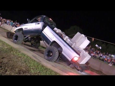 TUG OF WAR GONE WRONG - Dodge Truck Bends in Half!