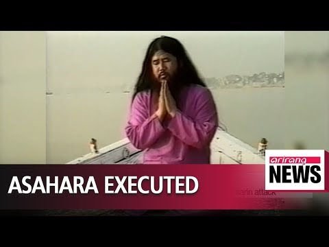 Shoko Asahara, Head Of Aum Shinrikyo Cult Behind Tokyo Gas Attack Executed