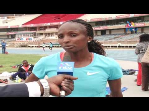 Hellen Obiri has her eyes set on top honours at the London IAAF World championships