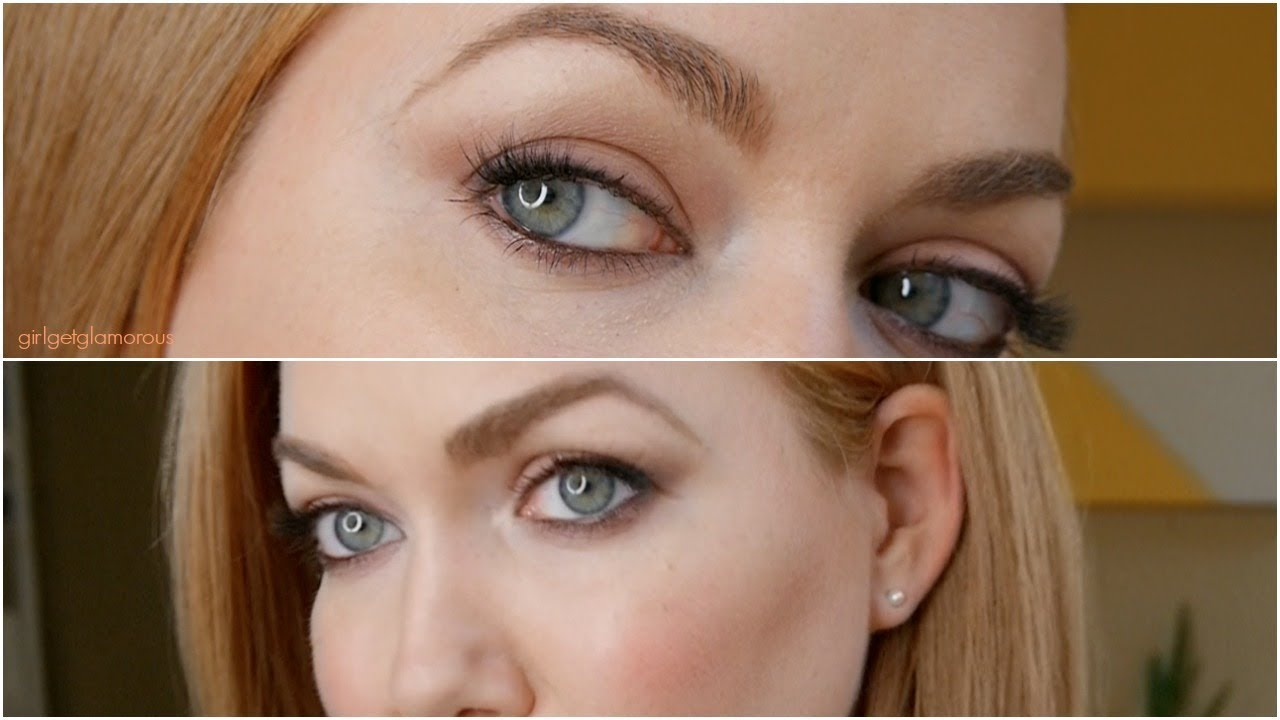 Mauve Daytime Eye Shadow Tutorial Makeup For Strawberry Blondes