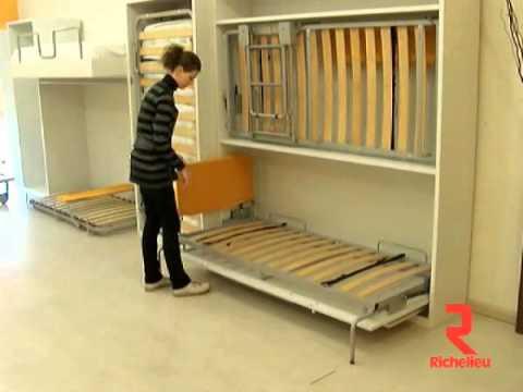 Richelieu Hardware Horizontal Wall Bed Mechanism Youtube