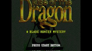 Mega-CD Longplay [007] Rise of the Dragon