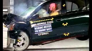 Crash Test   Honda Civic 2001