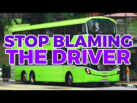 This is why the bus is so slow, it's NOT the driver's fault!