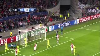 Video Gol Pertandingan Ajax Amsterdam vs FC Barcelona