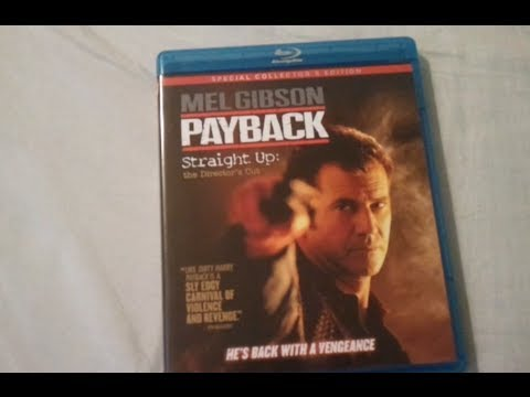 Payback Straight Up Directors Cut 1999 Blu Ray Review And Unboxing