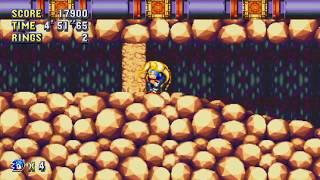 Sonic Mania - Lava Reef Zone Gameplay