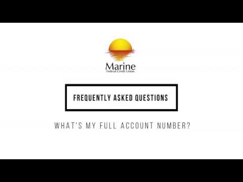 How to Find Your Full Account Number