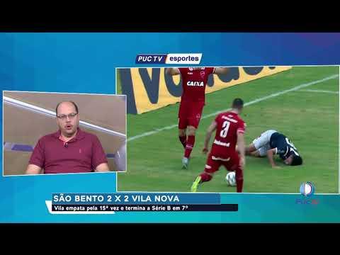 São Bento 2 X 2 Vila Nova