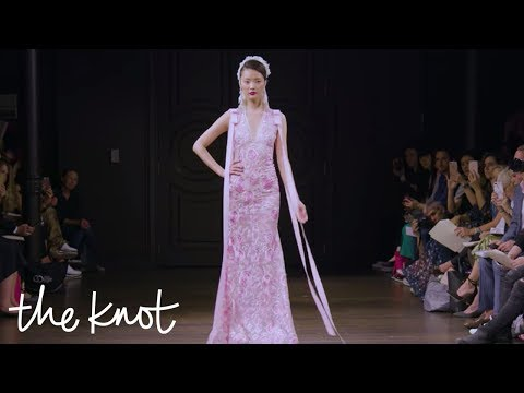 Bridal Fashion Week Fall 2018: Colorful Dresses