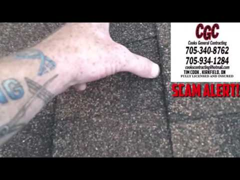 Cooks General Contracting Kirkfield / CGC Contracting  Roofing SCAM ALERT!!!