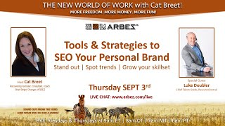 Tools and Strategies to SEO your personal brand with Luke Doubler