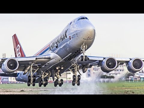 50 Minutes PURE Aviation - BOEING 747 ONLY - B747 Classic and New Generation