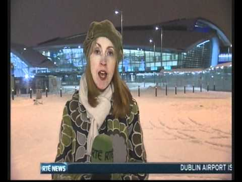 Snow and ice in Ireland - RTÉ News (21 December 2010)