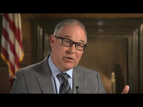 EPA Administrator Scott Pruitt discusses agency's agenda for 2018