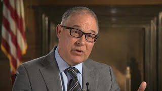EPA Administrator Scott Pruitt discusses agency