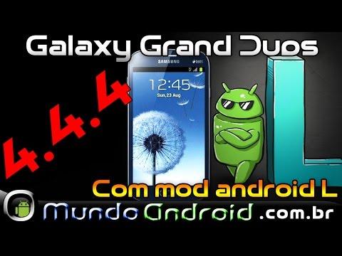 Como atualizar Galaxy Grand Duos 4.4.4 CM11 Mod Android L, 2 chips ativos.