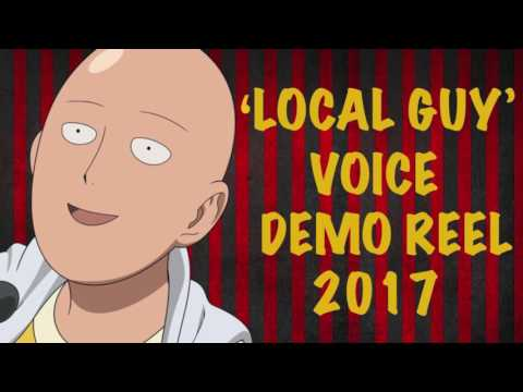 'Local Guy' Voice Demo Reel 2017
