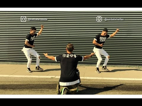 Nacho, Wisin, Noriel - No Te Vas (Remix) - Zumba fitness choreography ft Zumba Twins