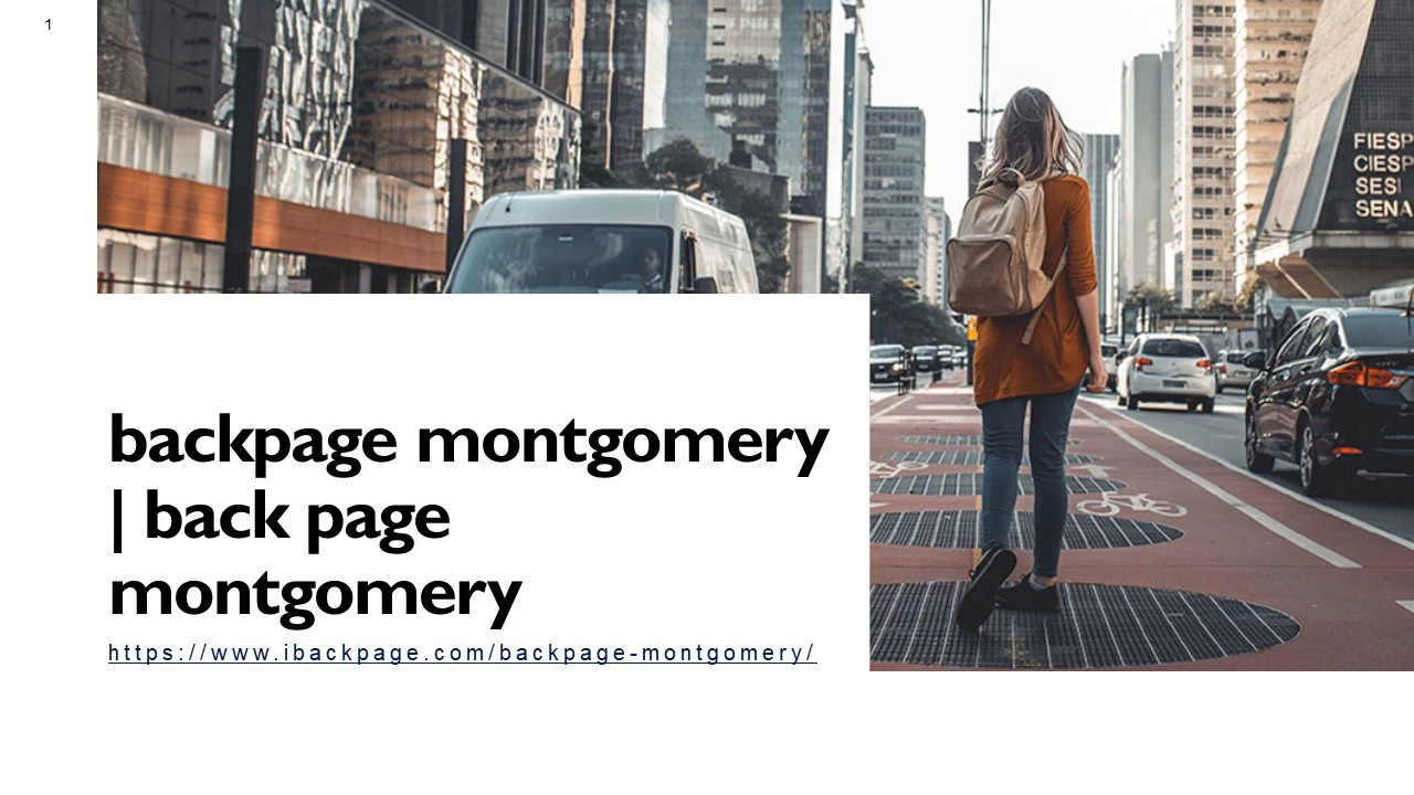 Backpages montgomery