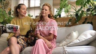 HET GROENE MONSTER: JALOEZIE #2 door modellen Tanja Kok en Elize Been