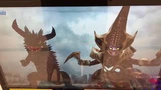 フュージョンファイト 「パワーアップ」した始まりの敵 超コッヴ&ベムラー強化VSアストラ&ウルトラマンメビウス ULTRAMAN