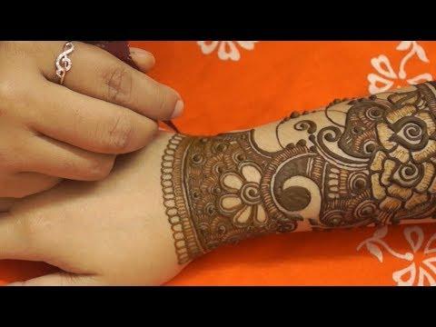 Pakistani beautiful floral full hand mehndi design thumbnail