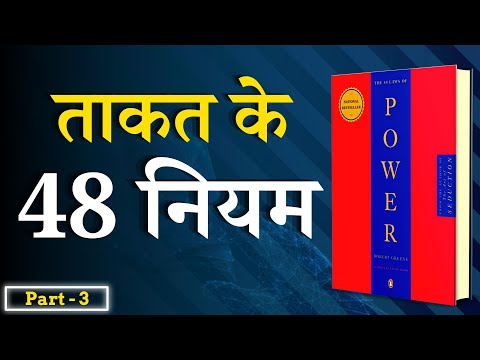 48 Laws of Power Animated Book Summary in Hindi Part-3 of 4