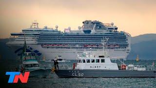 Alerta por el coronavirus en Japón: hay 8 argentinos en un crucero en cuarentena